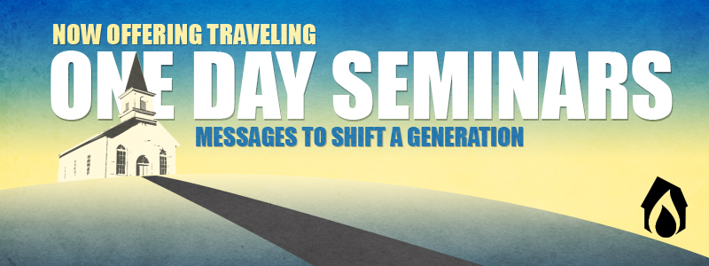 Now Offering Traveling One Day Seminars