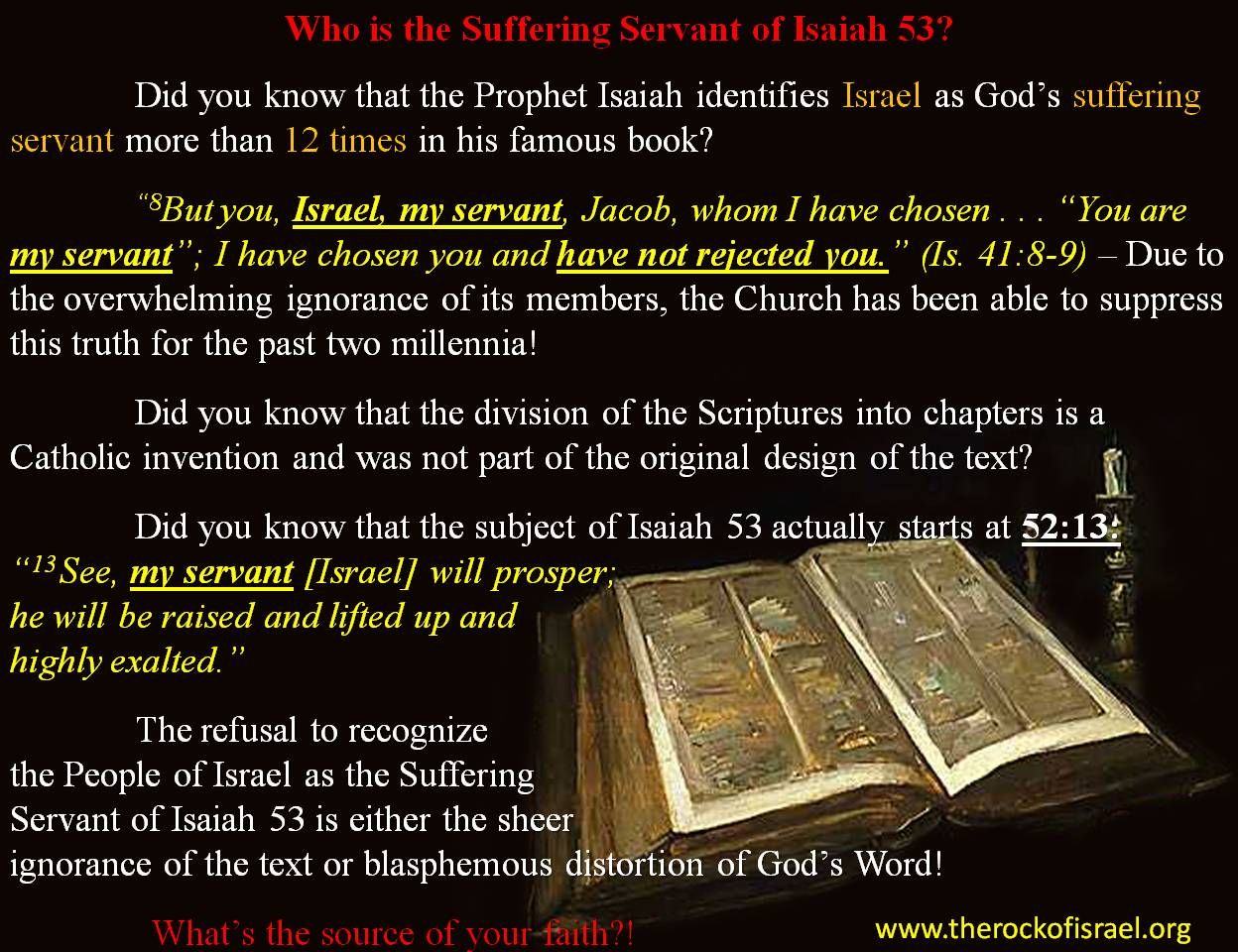 who is the servant in isaiah essay