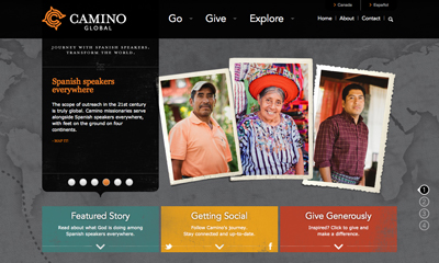 Camino Global Home Page